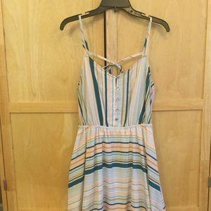 LC Lauren Conrad Multi Striped Dress